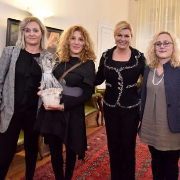 Primanje kod predsjednice Republike  Hrvatske – Kolinde Grabar Kitarović