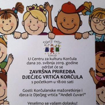 Dječji vrtić Korčula_priredba